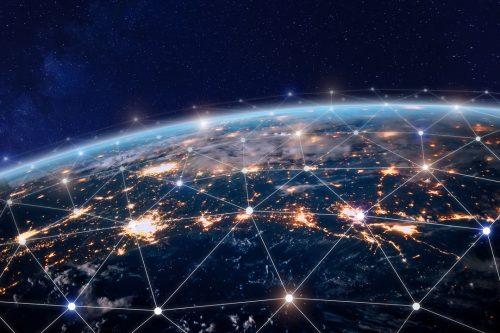 World telecommunications network